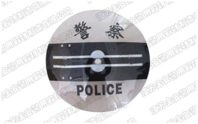 圆形PC电击防暴盾牌